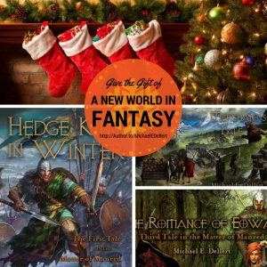 Give the Gift of a New World in Fantasy: The Matter of Manred Saga!