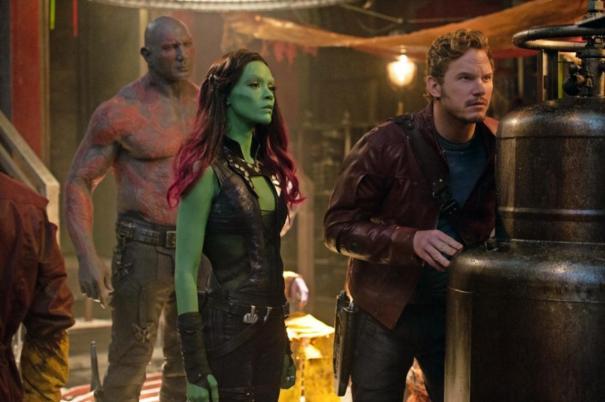 Guardians of the Galaxy, Chris Pratt, Zoe Saldana, Star Lord, Gamora