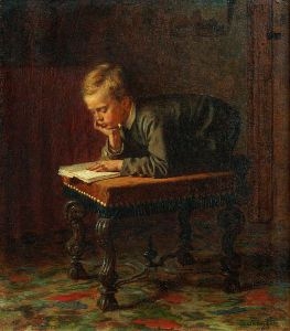 526px-Eastman_Johnson_-_Reading_Boy